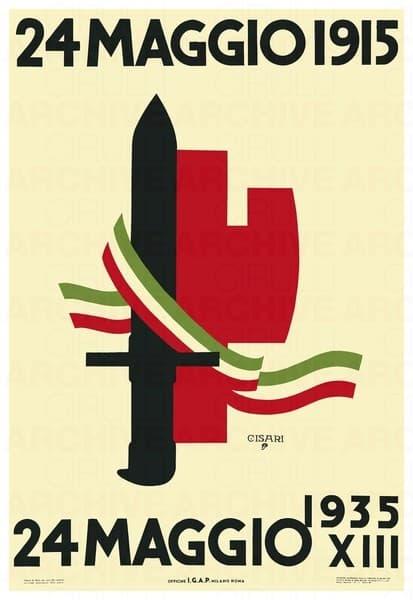 24 maggio 1915 - 24 maggio 1935.Ventennale dell'ingresso in guerra