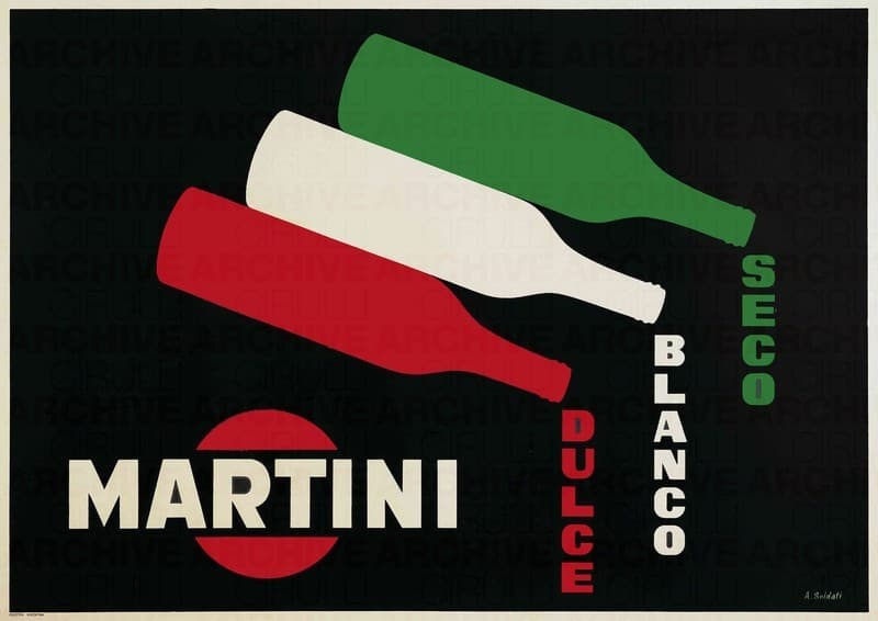 Martini - Dulce, Blanco, Seco