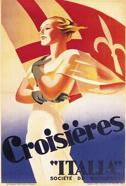 """Croisières"""" Italia"""" Societé de Navigation"""