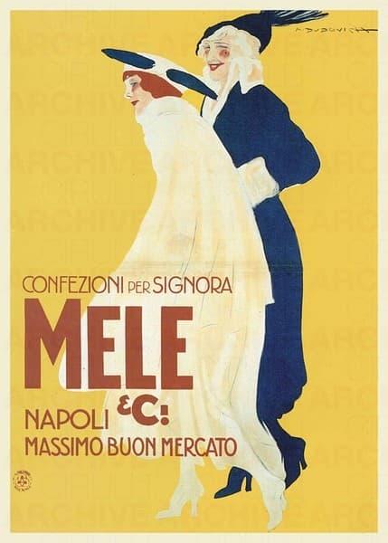 E. & A. Mele & Ci. Napoli. Confezioni per signora