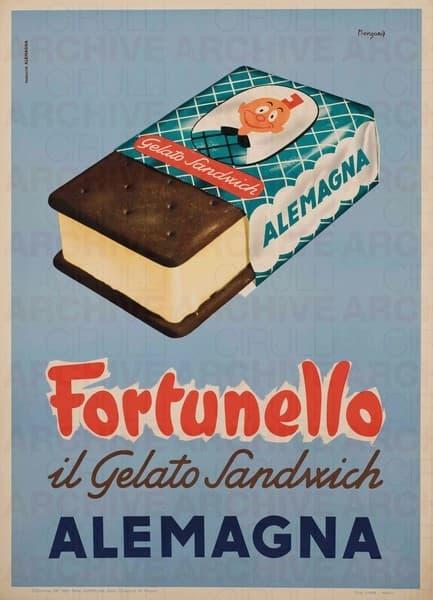 Alemagna. Fortunello, il gelato sandwich