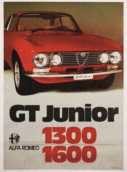 GT Junior 1300 - 1600 Alfa Romeo