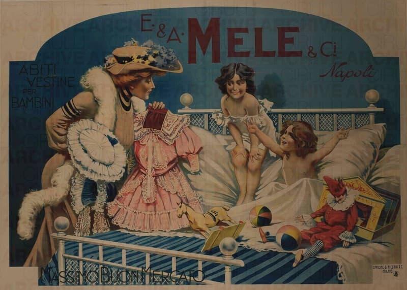 E. & A. Mele & Ci. Napoli. Abiti e Vestine per Bambini