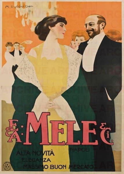 E. & A. Mele & Ci. Napoli. Alta novità eleganza massimo buon mercato