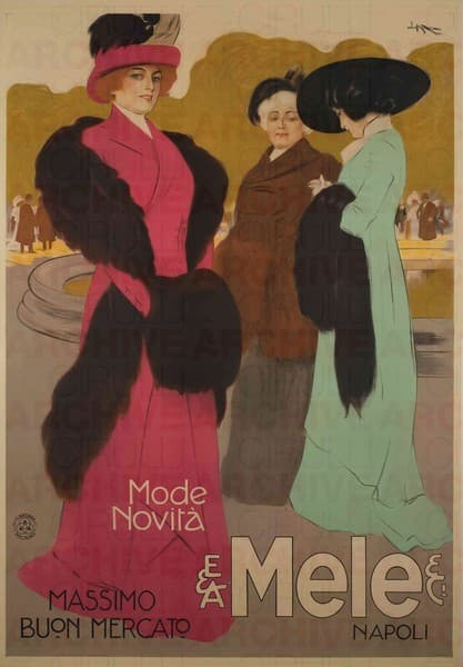 E. & A. Mele & Ci. Napoli. Mode Novità