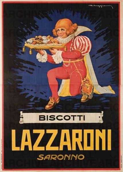 Biscotti Lazzaroni lv bSaronno
