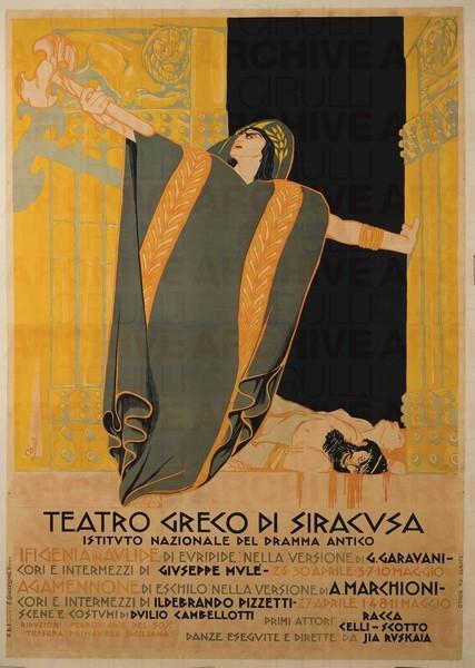 Teatro Greco di Siracusa, Ifigenia in Aulide di Euripide, Agamennone di Eschilo