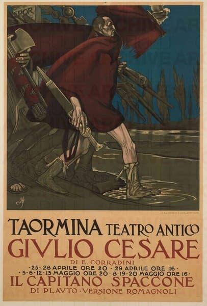 Taormina Teatro Antico. Giulio Cesare
