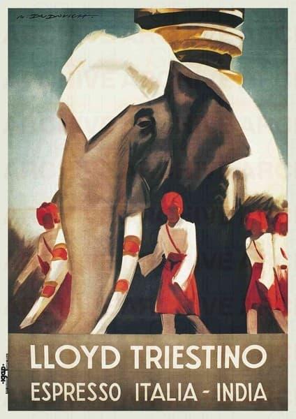 Lloyd Triestino  Espresso Italia-India