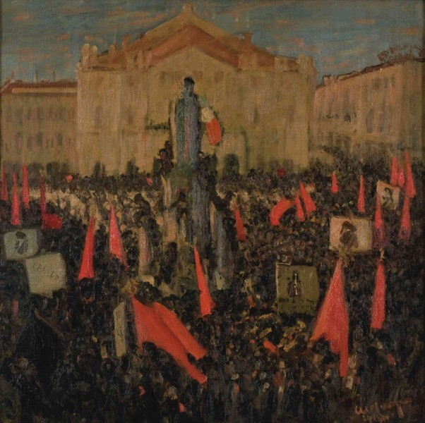 Elezioni a Milano (Piazza della Scala)