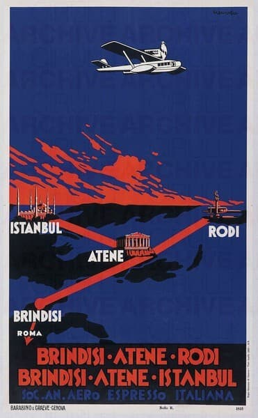Brindisi-Atene-Rodi Brindisi-Atene-Istanbul