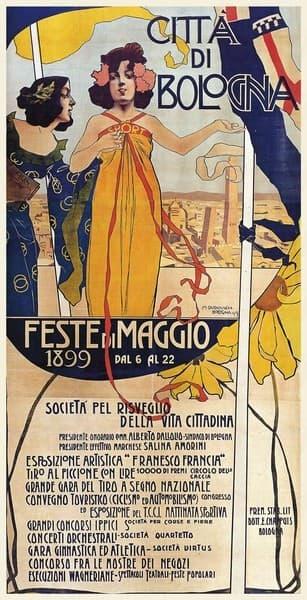 Città di Bologna. Feste di Maggio