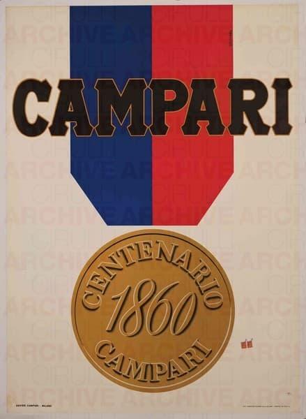 Campari Centenario 1860