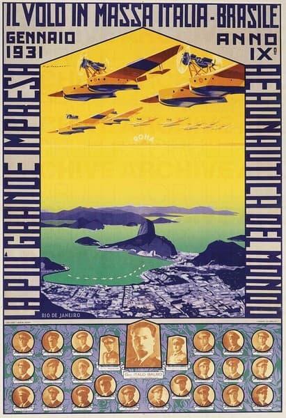 Il Volo in Massa Italia-Brasile