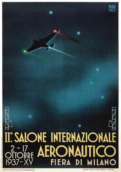 II° Salone Internazionale Aeronautico. Fiera di Milano