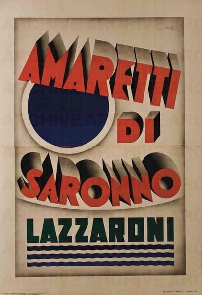 """Amaretti Di Saronno """"Lazzaroni"""""""