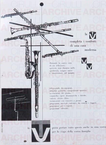 Rai Radio Italiana. La TV completa i conforti di una casa moderna