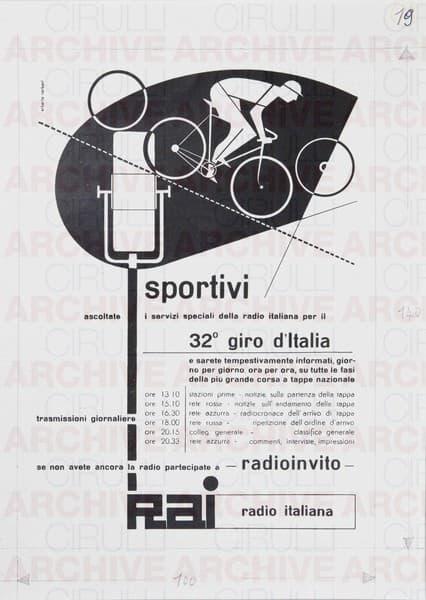 Rai Radio Italiana. 32° Giro d'Italia