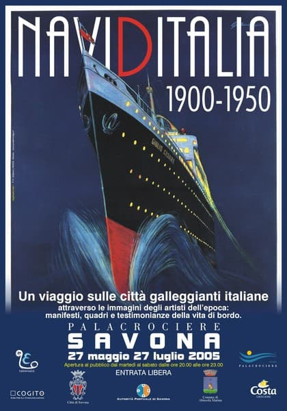 Navi d'Italia 1900-1950