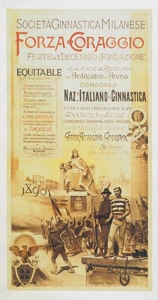 Forza e Coraggio - Società Ginnastica Milanese