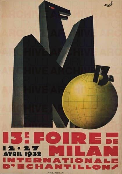 XIII Foire de Milan Internationale d'enchantillons