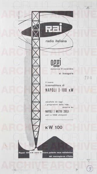 Rai Radio Italiana Il nuovo trasmettitore di Napoli