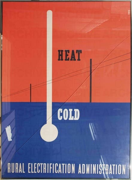Heat Cold. Rural Electrification Administratio. U.S.Department of Agriculture