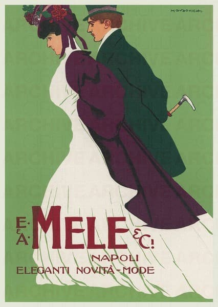 E. & A. Mele & C. Napoli. Eleganti novità