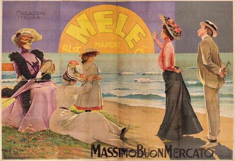 Magazzini Italiani E.& A. Mele & Ci. Napoli