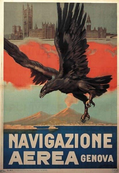 Navigazione Aerea, Genova