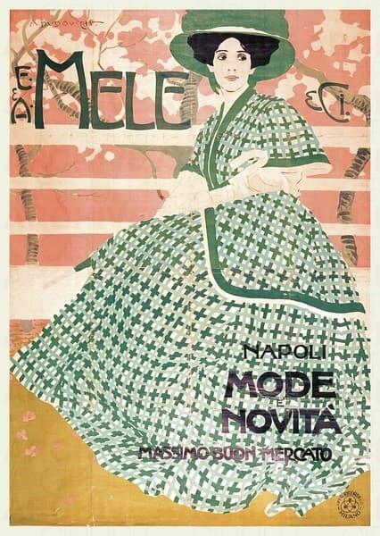 E. & A. Mele & Ci. Napoli. Mode e Novità