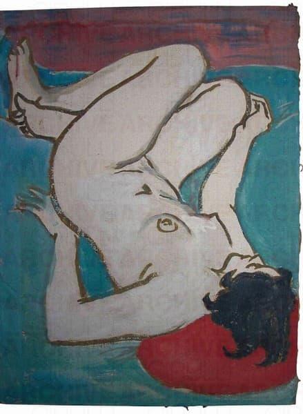 Nudo Femminile Sdraiato