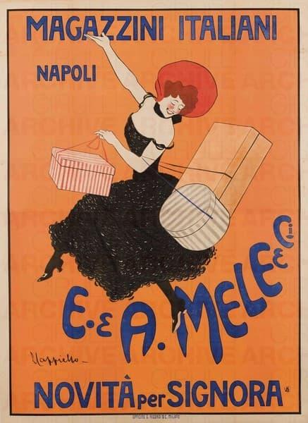 E. & A. Mele & Ci. Napoli. Novità per signora