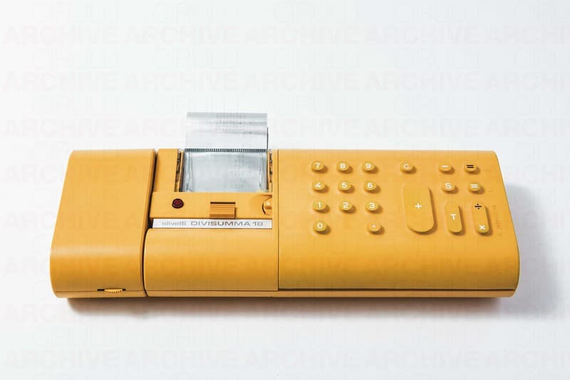 Calcolatrice Divisumma 18, Olivetti
