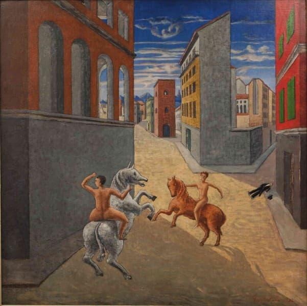 Città Metafisica e Cavalieri