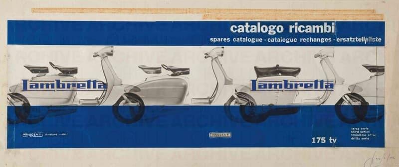 Catalogo Ricambi Lambretta 175 TV