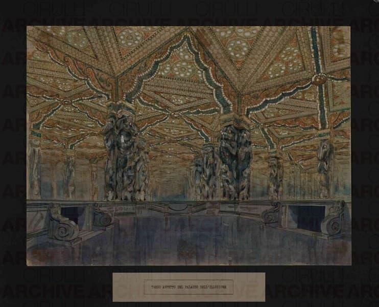 Esposizione Universale di Roma 1942 Terzo aspetto del Palazzo dell'Illusione