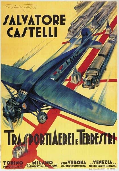 Salvatore Castelli - Trasporti Aerei e Terrestri