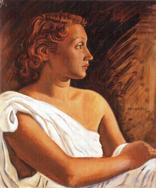 Figura Femminile Seduta
