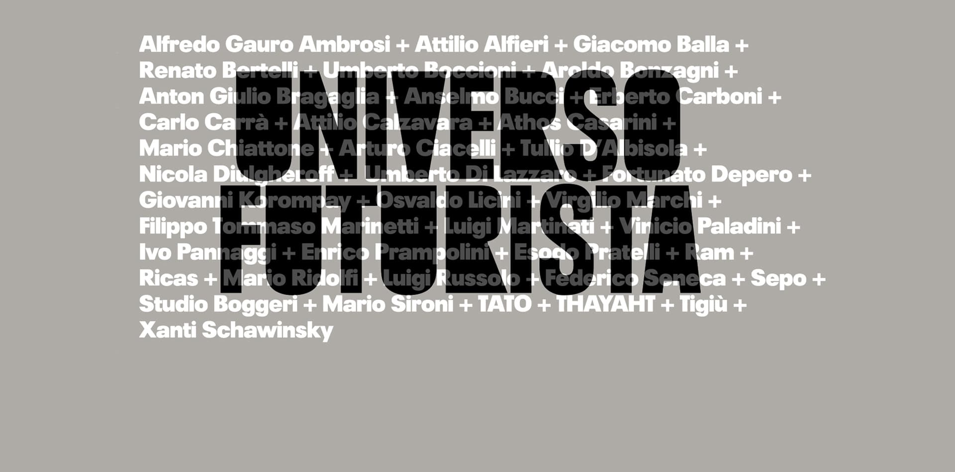 UNIVERSO FUTURISTA | Opening in Massimo and Sonia Cirulli Foundation