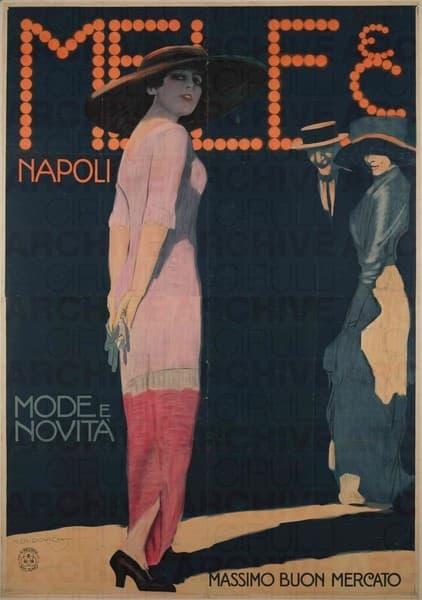 Mele & C. Napoli. Mode e Novità. Massimo Buon Mercato