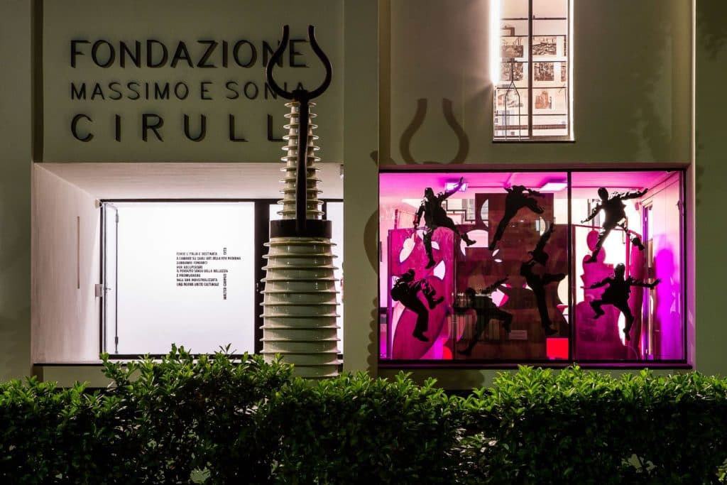 Fondazione Massimo e Sonia Cirulli - closing for the summer