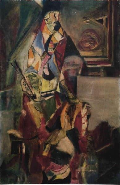 Moi. Le peintre dans son atélier