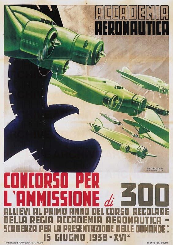 Concorso per 300 Allievi alla Reale Accademia Aeronautica