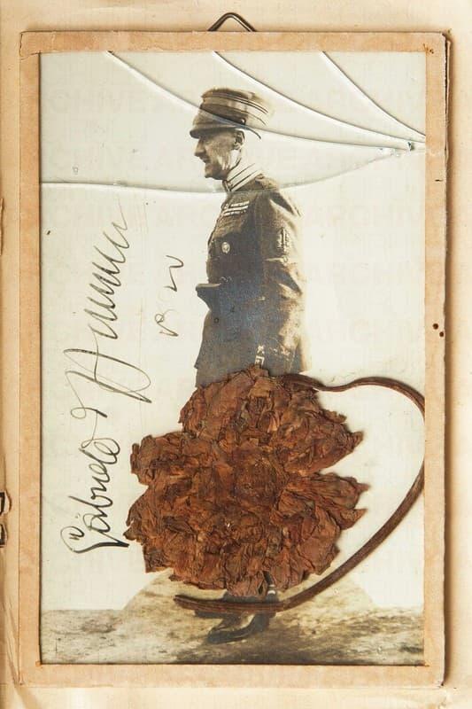 Cimelio del Volo su Vienna appartenuto a Gabriele d'Annunzio e regalato a Tinina Caproni